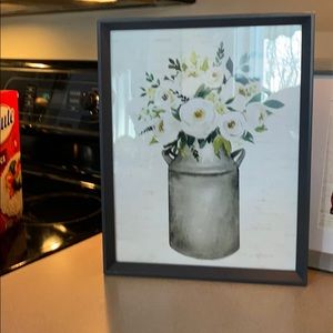 New Distressed Farmhouse Print in Frame ast sizes